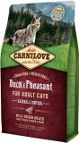 Carnilove Duck & Pheasant for Adult Cats Hairball Control 400 g