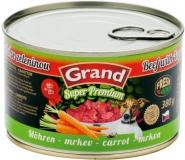 Grand Super Premium Dog hovězí/mrkev 380 g