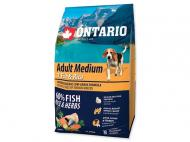 Ontario Adult Medium Fish & Rice 750 g