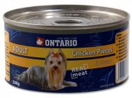 Ontario konzerva Chicken Pieces+Gizzard 200 g