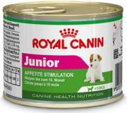 Royal Canin konzerva Mini Junior 195 g 2+1 zdarma